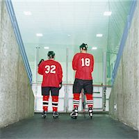 Hockey Players Stock Photo - Premium Royalty-Freenull, Code: 6106-06991260