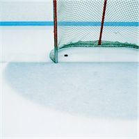 Ice Hockey Goal Stock Photo - Premium Royalty-Freenull, Code: 6106-06991261