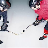 Ice Hockey Players Stock Photo - Premium Royalty-Freenull, Code: 6106-06991264