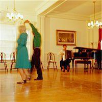 Elderly Couple Dancing Stock Photo - Premium Royalty-Freenull, Code: 6106-06991304