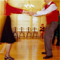 Elderly Couple Dancing Stock Photo - Premium Royalty-Freenull, Code: 6106-06991305