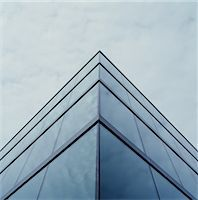 Corner of office building exterior, low angle view Stock Photo - Premium Royalty-Freenull, Code: 6106-06993370