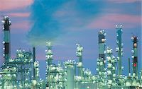 refinery - Chemical plant Stock Photo - Premium Royalty-Freenull, Code: 6106-06995179