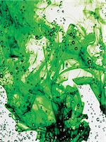 Green Dye Mixing With Water Stock Photo - Premium Royalty-Freenull, Code: 6106-06997075