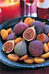 Bowl of Dried Apricots and Figs
