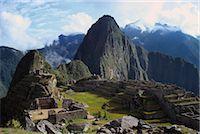 Machu Picchu, Peru, South America Stock Photo - Premium Royalty-Freenull, Code: 6106-07007697