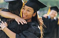 Students Embracing at Graduation Stock Photo - Premium Royalty-Freenull, Code: 6106-07019820