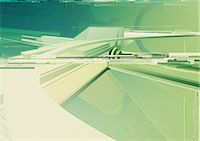 rectangle - Abstract digitally generated image Stock Photo - Premium Royalty-Freenull, Code: 6106-07020397