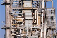refinery - Detail of oil refinery Stock Photo - Premium Royalty-Freenull, Code: 6106-07021269