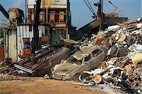 Urban dump or junkyard Stock Photo - Premium Royalty-Freenull, Code: 6106-07021412
