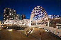futuristic - Melbourne Docklands Stock Photo - Premium Royalty-Freenull, Code: 6106-07029813