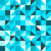 Seamless geometric backdrop with triangles and squares Stock Photo - Royalty-Freenull, Code: 400-07033253