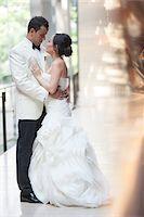 Portrait of Bride and Groom, Toronto, Ontario, Canada Stock Photo - Premium Royalty-Freenull, Code: 600-07062771