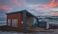 Chalet, Laugar, Iceland Stock Photo - Premium Royalty-Freenull, Code: 649-07062973