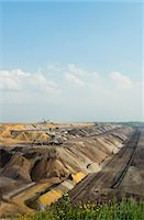 Opencast mine for brown coal, Juchen, Germany Stock Photo - Premium Royalty-Freenull, Code: 649-07063477