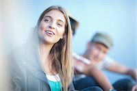 Group of teenage friends Stock Photo - Premium Royalty-Freenull, Code: 649-07064226
