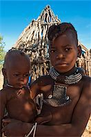 Portrait of Himba boys, Kaokoveld, Namibia, Africa Stock Photo - Premium Rights-Managednull, Code: 700-07067369
