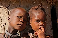 Close-up portrait of Himba children, Kaokoveld, Namibia, Africa Stock Photo - Premium Rights-Managednull, Code: 700-07067372