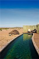 rugged landscape - Pool, Doro Nawas Camp, Damaraland, Kunene Region, Namibia, Africa Stock Photo - Premium Rights-Managednull, Code: 700-07067678