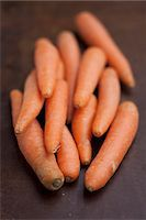 Several carrots Stock Photo - Premium Royalty-Freenull, Code: 659-07069535