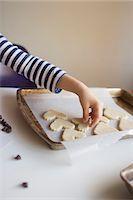 Home made Valentine cookies Stock Photo - Premium Royalty-Freenull, Code: 6106-07070764