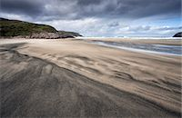 Dalbeg Beach with intricate patterns in the sand, near Carloway, Isle of Lewis, Outer Hebrides, Scotland, United Kingdom, Europe Stock Photo - Premium Rights-Managednull, Code: 841-07081854