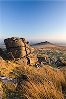 dartmoor national park - Belstone Tor and moorland, Dartmoor National Park, Devon, England, United Kingdom, Europe Stock Photo - Premium Rights-Managednull, Code: 841-07082921