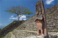 Tonina Archaeological Zone, Chiapas, Mexico, North America Stock Photo - Premium Rights-Managednull, Code: 841-07083010