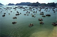 fishing - Boats in Ha-Long Bay, UNESCO World Heritage Site, Vietnam, Indochina, Southeast Asia, Asia Stock Photo - Premium Rights-Managednull, Code: 841-07083203
