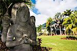 Buddhist statues in the Botanical Gardens on Nevis Island, St. Kitts and Nevis, Leeward Islands, West Indies, Caribbean, Central America Stock Photo - Premium Rights-Managed, Artist: Robert Harding Images, Code: 841-07083385