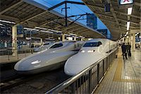 platform - Shinkanzen train station in Tokyo, Japan, Asia Stock Photo - Premium Rights-Managednull, Code: 841-07083638