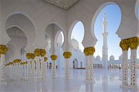 Sheikh Zayed Bin Sultan Al Nahyan Mosque, Abu Dhabi, United Arab Emirates, Middle East Stock Photo - Premium Rights-Managednull, Code: 841-07083938