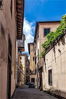 Lucca, Tuscany, Italy. old Streets Stock Photo - Royalty-Freenull, Code: 400-07091680