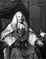 William Murray, 1st Earl of Mansfield (1705-1793) on engraving from 1832. British barrister, politician and judge note