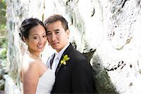 special moment - Portrait of Married Couple Outdoors, Toronto, Ontario, Canada Stock Photo - Premium Royalty-Freenull, Code: 600-07117244