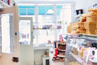 supermarket not people - Interior of Sandwich Shop Stock Photo - Premium Rights-Managednull, Code: 822-07117493