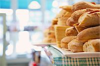 supermarket not people - Shop Interior with Stack of Sandwiches Stock Photo - Premium Rights-Managednull, Code: 822-07117545