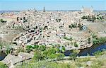 Toledo cityscape, Spain