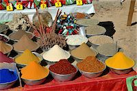 supermarket not people - spices, colors, Aswan, Nile, Egypt Stock Photo - Premium Royalty-Freenull, Code: 6106-07120523