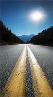 Trans Canada Highway looking west towards Salmon Arm, British Columbia, Canada Stock Photo - Premium Royalty-Free, Artist: Andrew Kolb, Code: 600-07122845
