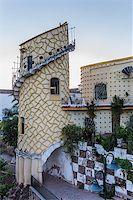 puentes - Artistic tower in Puente de Genave, Spain Stock Photo - Royalty-Freenull, Code: 400-07123644