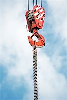 Crane hook Stock Photo - Royalty-Freenull, Code: 400-07123676
