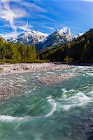 snow capped - Rissbach in Karwendel Mountains, Austria Stock Photo - Premium Royalty-Freenull, Code: 600-07143680
