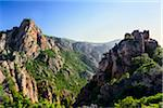 Scenic view of the Calanques de Piana, (Unesco World Heritage Site) Gulf of Porto, Corsica, France Stock Photo - Premium Rights-Managed, Artist: Siephoto, Code: 700-07148283