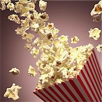 entry field - Popcorn, computer artwork. Stock Photo - Premium Royalty-Freenull, Code: 679-07151338