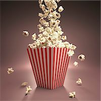 entry field - Popcorn, computer artwork. Stock Photo - Premium Royalty-Freenull, Code: 679-07151339