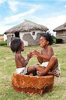 Xhosa children playing Stock Photo - Premium Rights-Managednull, Code: 873-07156807