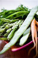 Studio shot of fresh vegetables Stock Photo - Premium Royalty-Freenull, Code: 6102-07157959
