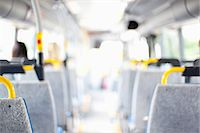 Interior of bus Stock Photo - Premium Royalty-Freenull, Code: 698-07158848