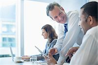 Business people working in office Stock Photo - Premium Royalty-Freenull, Code: 6113-07158917